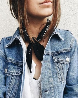 Flawless Outfit Ideas How To Wear Denim Jacket15