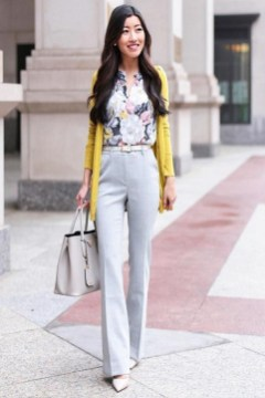 Impressive Spring And Summer Work Outfits Ideas For Women26