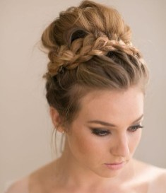 Unique Bun Hairstyles Ideas That Youll Love14