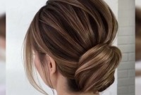 Unique Bun Hairstyles Ideas That Youll Love25