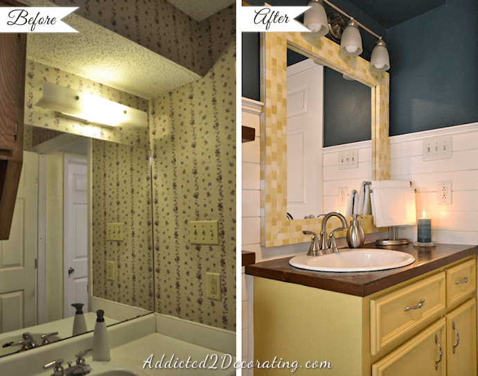 20-Day Small Bathroom Makeover