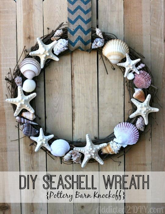DIY Seashell Wreath | Addicted 2 DIY