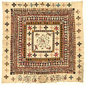 Stitched Together: The Rajah Quilt