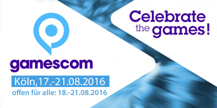 gamescom 2016 Schlussbericht – Spielemesse begeisterte erneut rund 345.000 Besucher