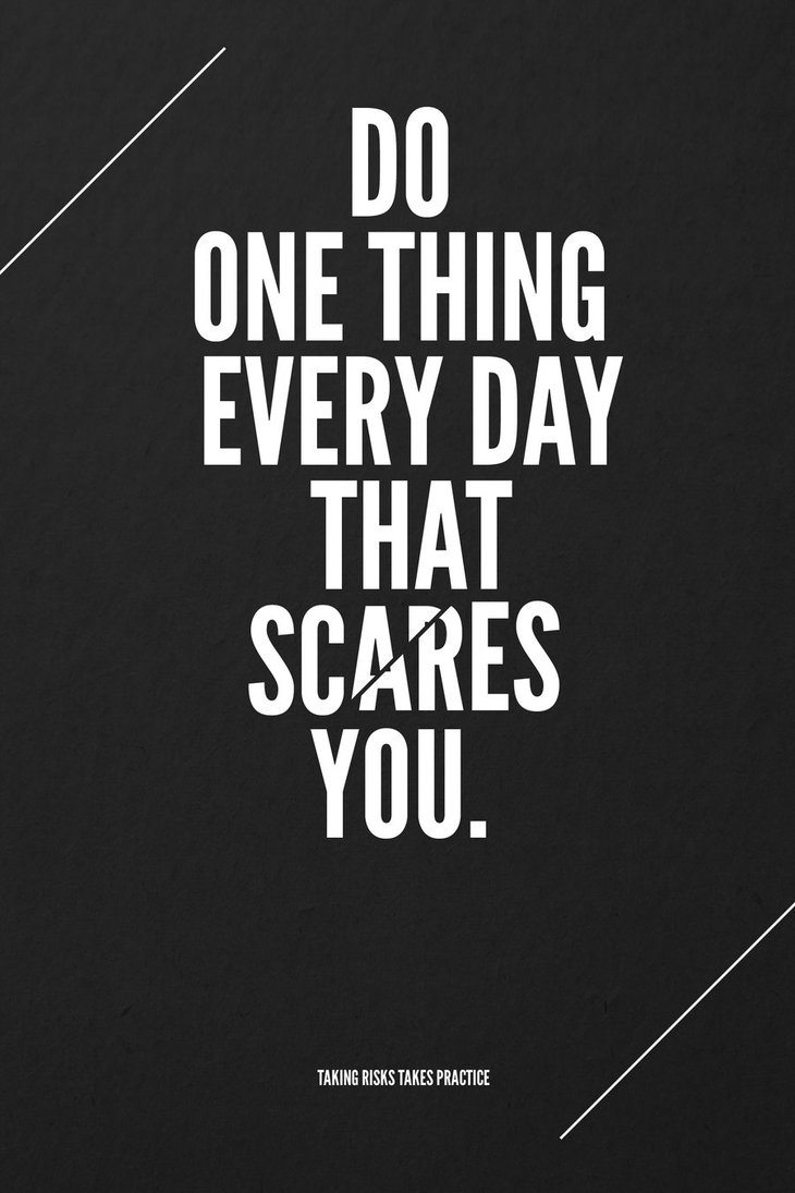 scare by marcusavedis d3emuvh1 55 Inspiring Quotations That Will Change The Way You Think