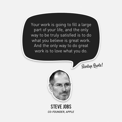 Steve Jobs Startup Picture Quote