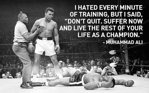Muhammad Ali mental strength