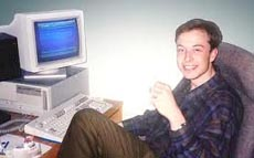 Elon Musk Young