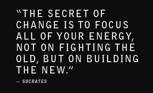 change picture quote