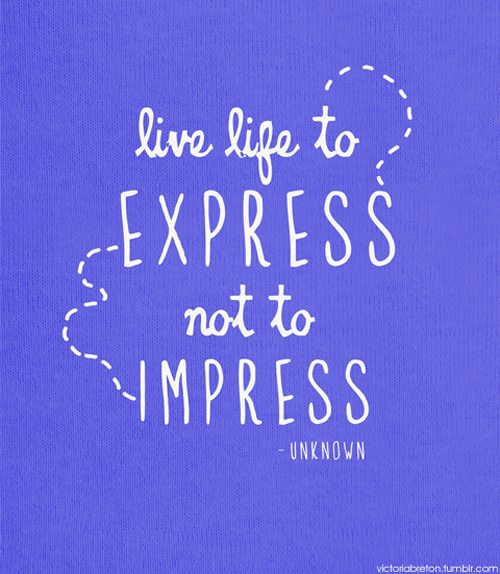 Inspiration Typography Picture Quote express
