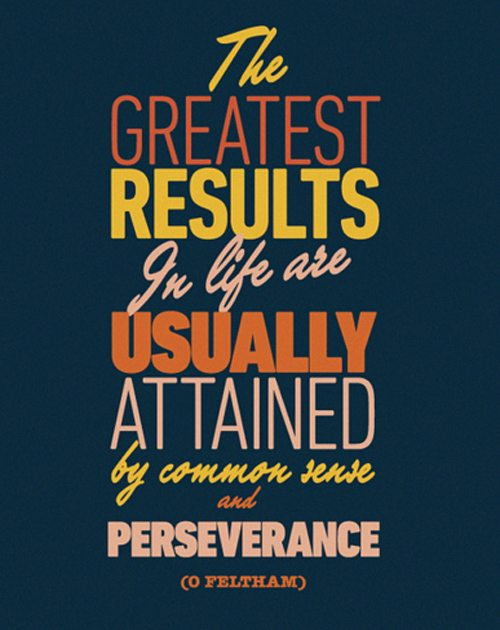 Inspiration Perseverance Quote