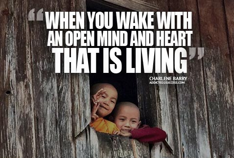 Buddhist Monks Happy Life Living Picture Quote Charlene Barry