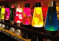 Lava Lamp Display