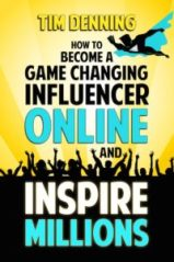 Small Ebook Cover - How To Become A Game Changing Influencer Online And Inspire Millions