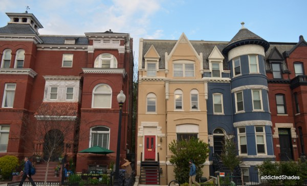 Colourful row houses :)