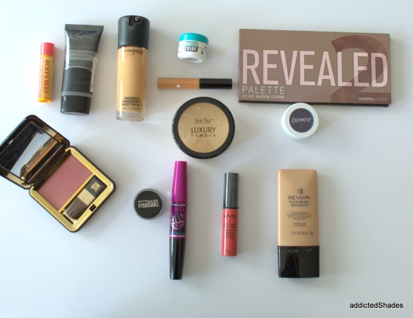 Party Makeup Look using revealed 2 palette