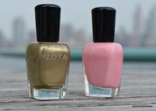 Zoya Ziv and Kitridge by Zoya Nail Polish