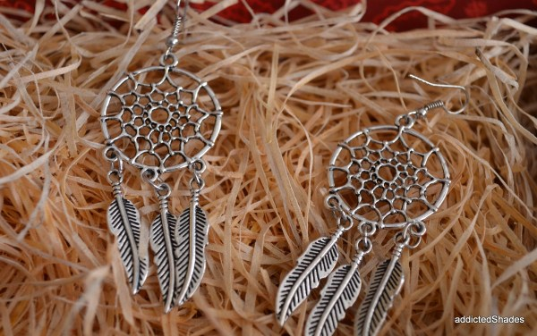 Dreamcatcher Earrings from The Lookbook Store