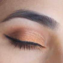 Orange Eyeshadow