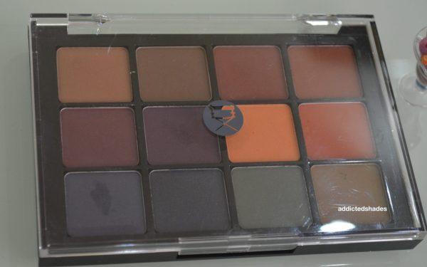 Viseart Matte Eyeshadow Palette Dark Matte