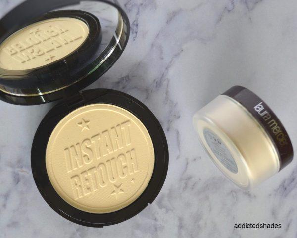Soap & Glory Kickass Powder & Laura Mercier Translucent Powder