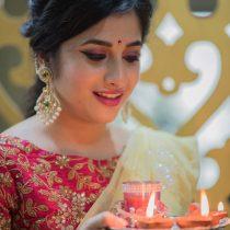 Diwali Night Look
