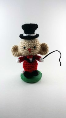 Introducing Marvelous Marvin the Ringmaster Mouse!
