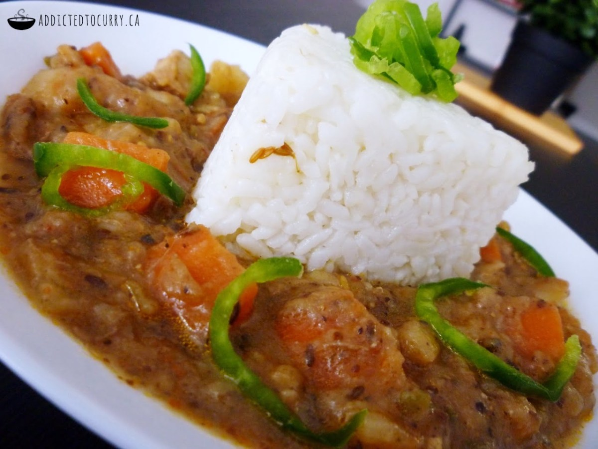Vegetable Japanese Curry