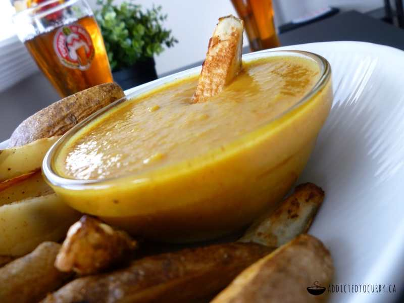 Spicy Irish Chip Dipping Sauce