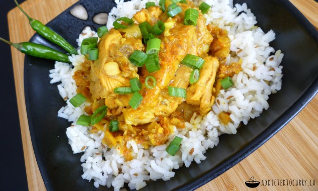 Super Simple Chicken Curry