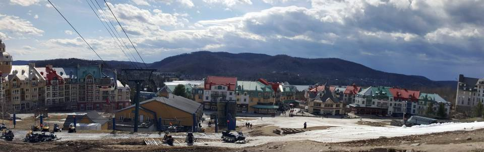 An afternoon in Mont-Tremblant.