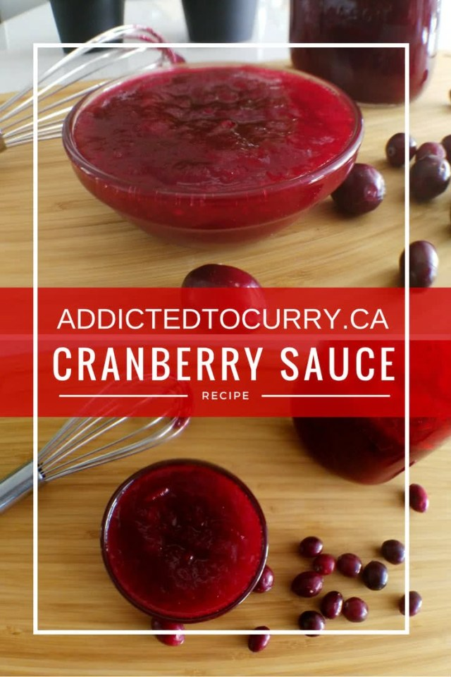 6-ingredient cranberry sauce can be made in under 30 minutes.
