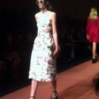 OH! SEW RUNWAY| Carven jurk | patroon
