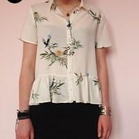 Maeva McQueen | Peplum blouse | patroon