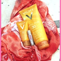 Summerskin: Vichy's Sunscreens - Mattifying Fluid and Hydrating Milk - review!