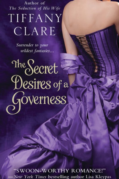Book Review-The Secret Desires of a Governess by Tiffany Clare