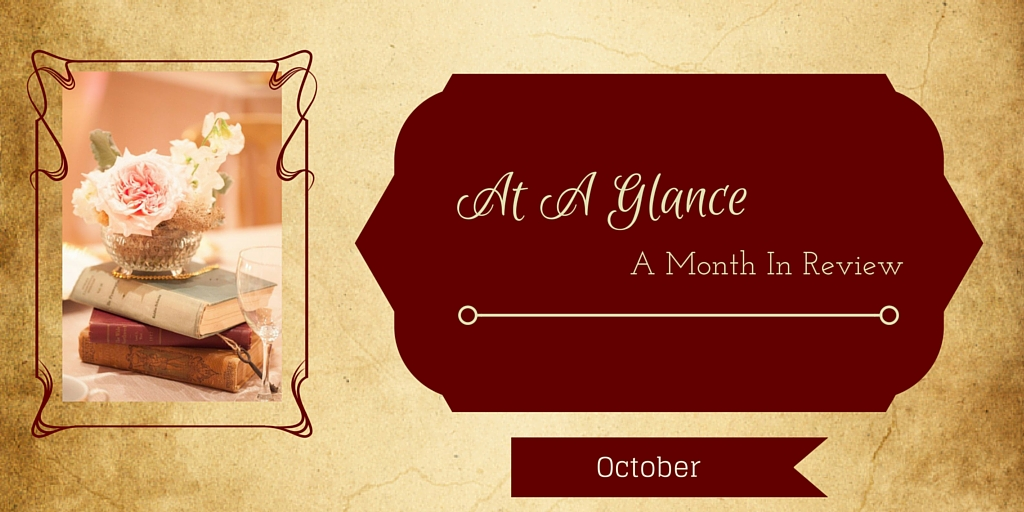 At A Glance: Month in Review-October