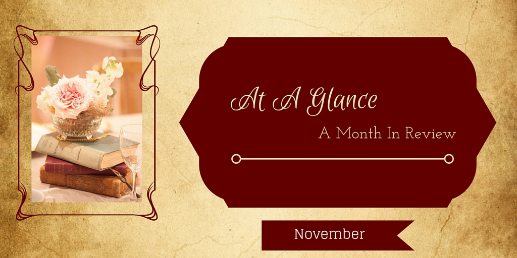 At A Glance: Month In Review for November!