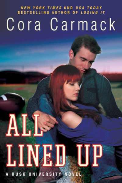 Book Review-All Lined Up by Cora Cormack