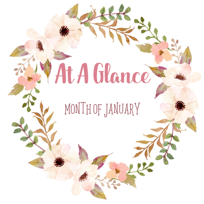 At A Glance: Month of January
