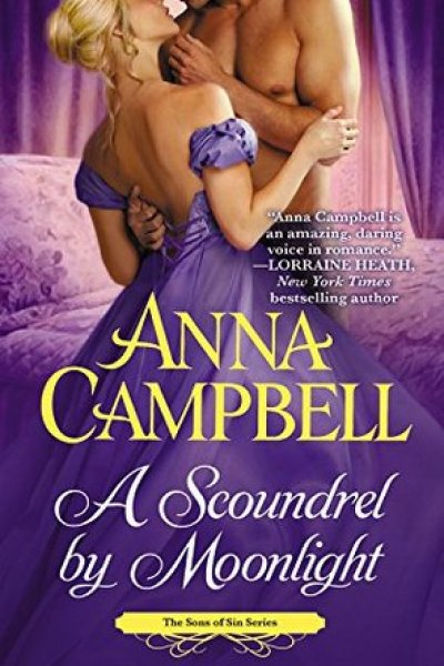 Book Review-A Scoundrel In Moonlight by Anna Campbell