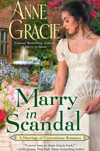 Book Review-Marry in Scandal by Anne Gracie