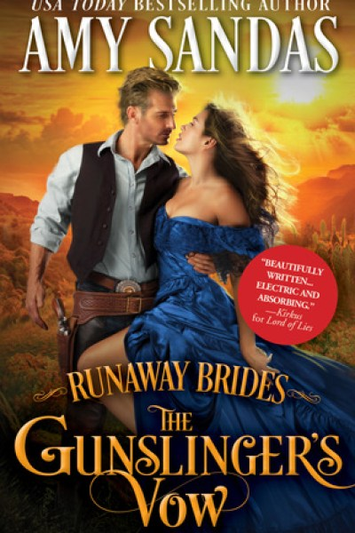Book Review-Gunslinger's Vow by Amy Sandas