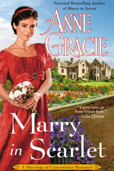 Book Review-Marry in Scarlet by Anne Gracie