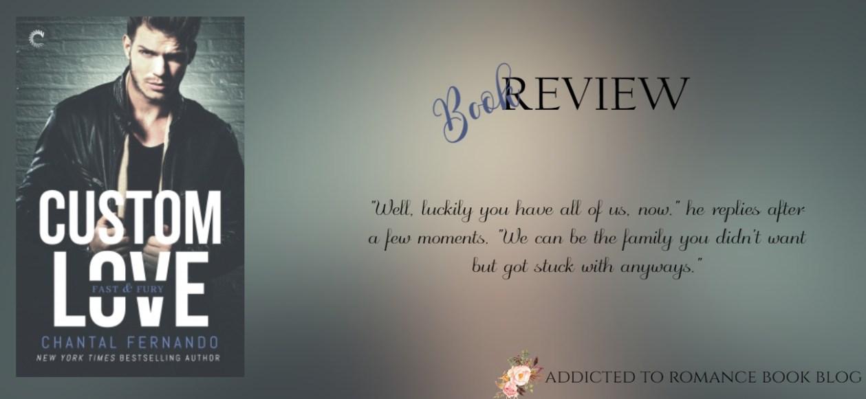 Book Review-Custom Love by Chantal Fernando