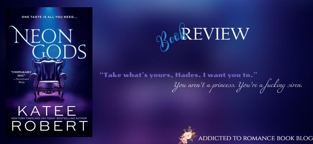 Hiatus Book Review-Neon Gods by Katee Robert