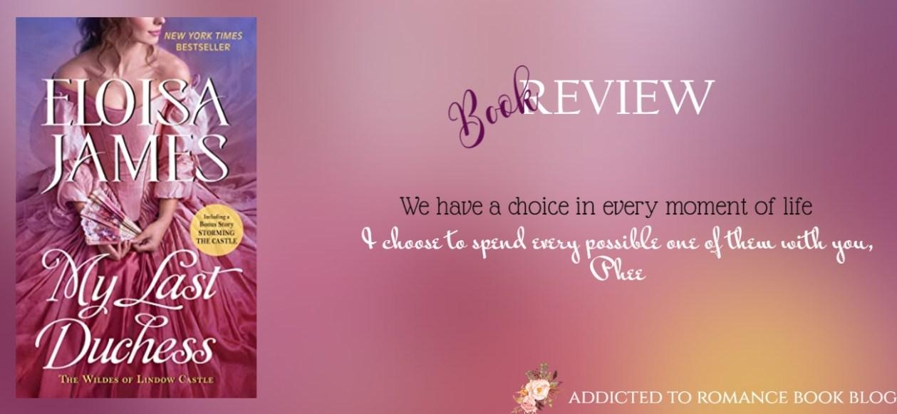Hiatus Book Review-My Last Duchess by Eloisa James