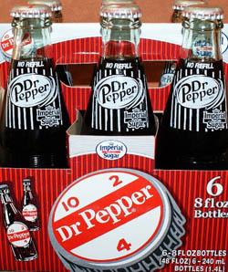 6 pack dr pepper