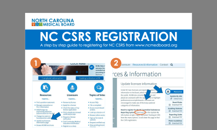 Step-by-Step Instructions for the NC Controlled Substances Reporting System