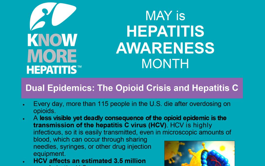 May Is Hepatitis Awareness Month